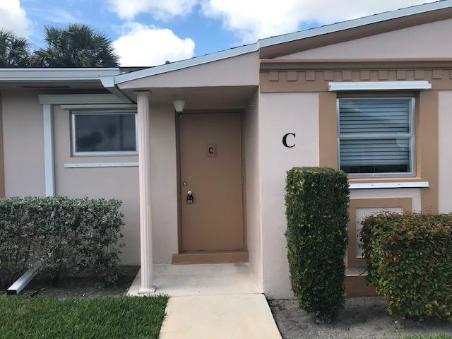 Home for sale in cresthaven villas condo 25 West Palm Beach Florida