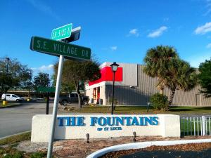 The Fountains Of St Lucie