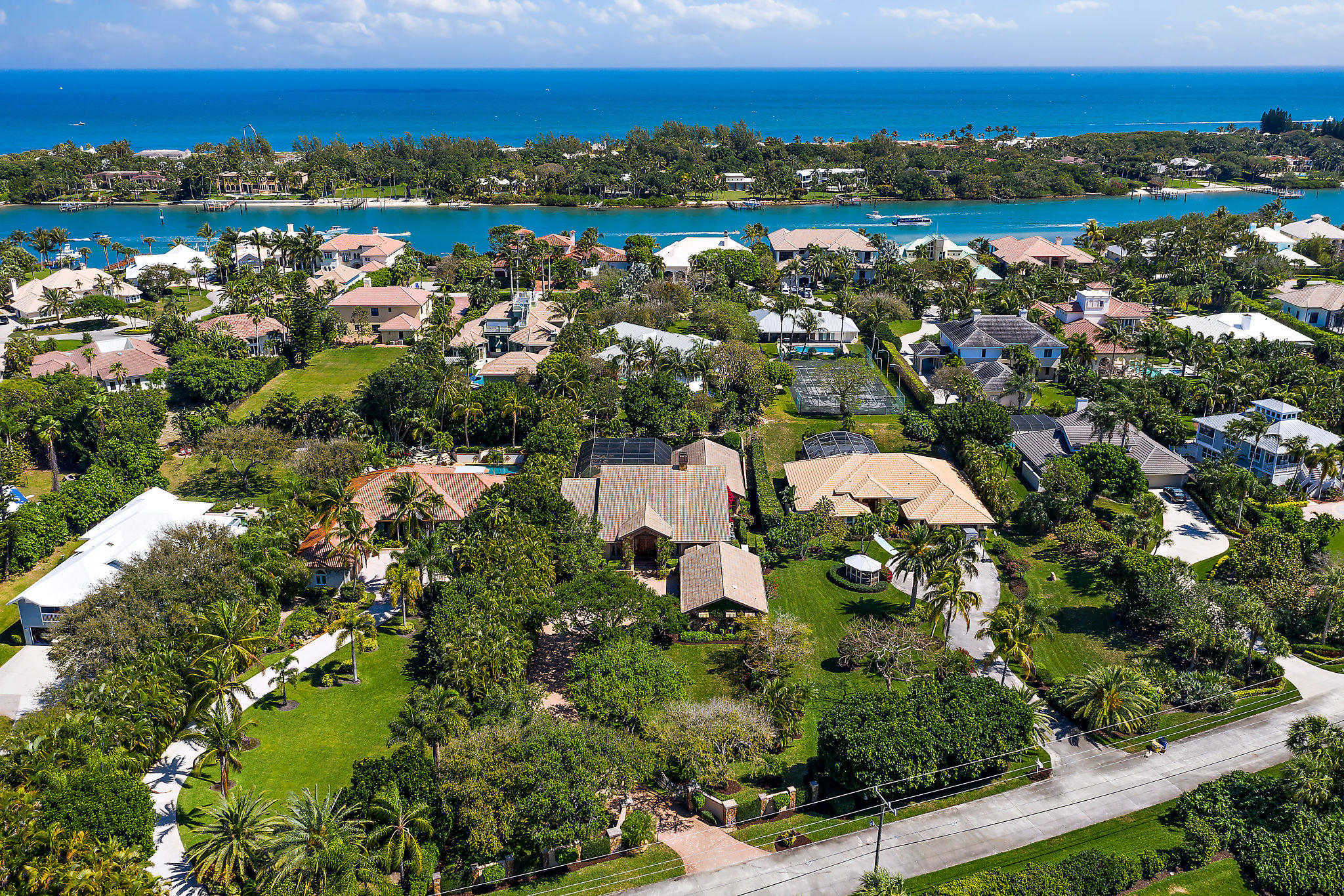 New Home for sale at 17361 Indian Hills Drive in Tequesta