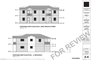 Currently rented for $1,650 with a FOURPLEX development OPPORTUNITY.Ideal opportunity to own a cash flowing rental property, with the upside of building a fourplex. This property has an R-15 zoning density. Architectural plans are attached. More information is available. Two 3 bedroom, 2 bath first floor. 1,279 S.F. under air units.Two 3 bedroom, 2 bath first floor. 1,355 S.F.under air units.