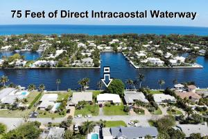 DIRECT INTRACOASTAL WATERFRONT LOT FOR SALE - Watch the passing boats, manatees & amazing water views from your own private back yard.  Add a private dock and boat lift for the ultimate boaters dream home.Located in the quiet East Delray Beach neighborhood of Tradewinds, across from the multi-million-dollar properties of Gulf Stream Florida. The lot has 75 feet of direct intracoastal water frontage with 15 of deeded waterfront with no fixed bridges to the ocean.Build your waterfront dream home in the highly sought-after, pet friendly East Delray Beach community along the Intracoastal Waterway. Tradewinds Estates is less than 3 miles north of Atlantic Ave & the Beach. Tradewinds has only one entry into the neighborhood & NO drive-through traffic, NO Mandatory HOA Rules or Fees.