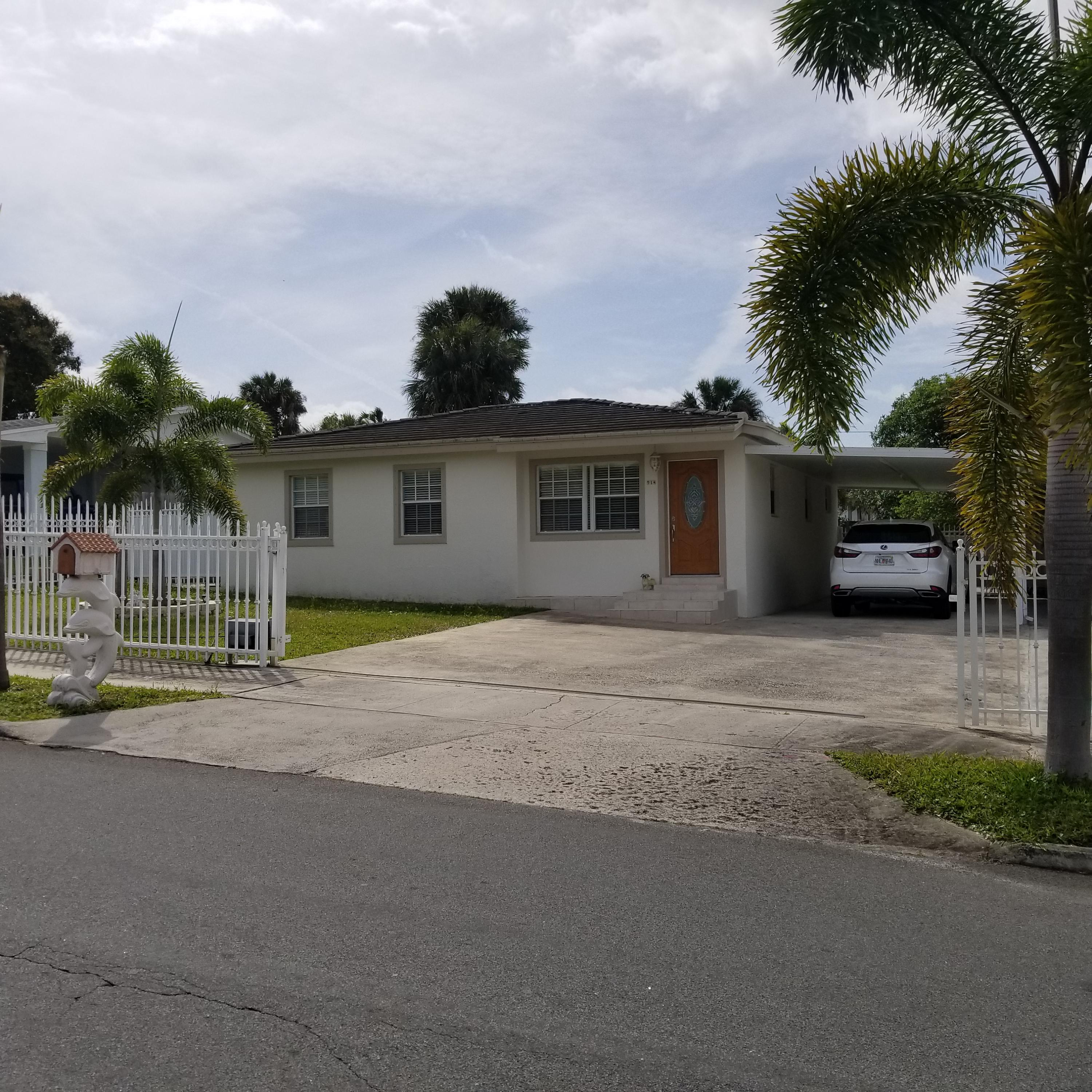 Home for sale in Bacon Park Heights West Palm Beach Florida