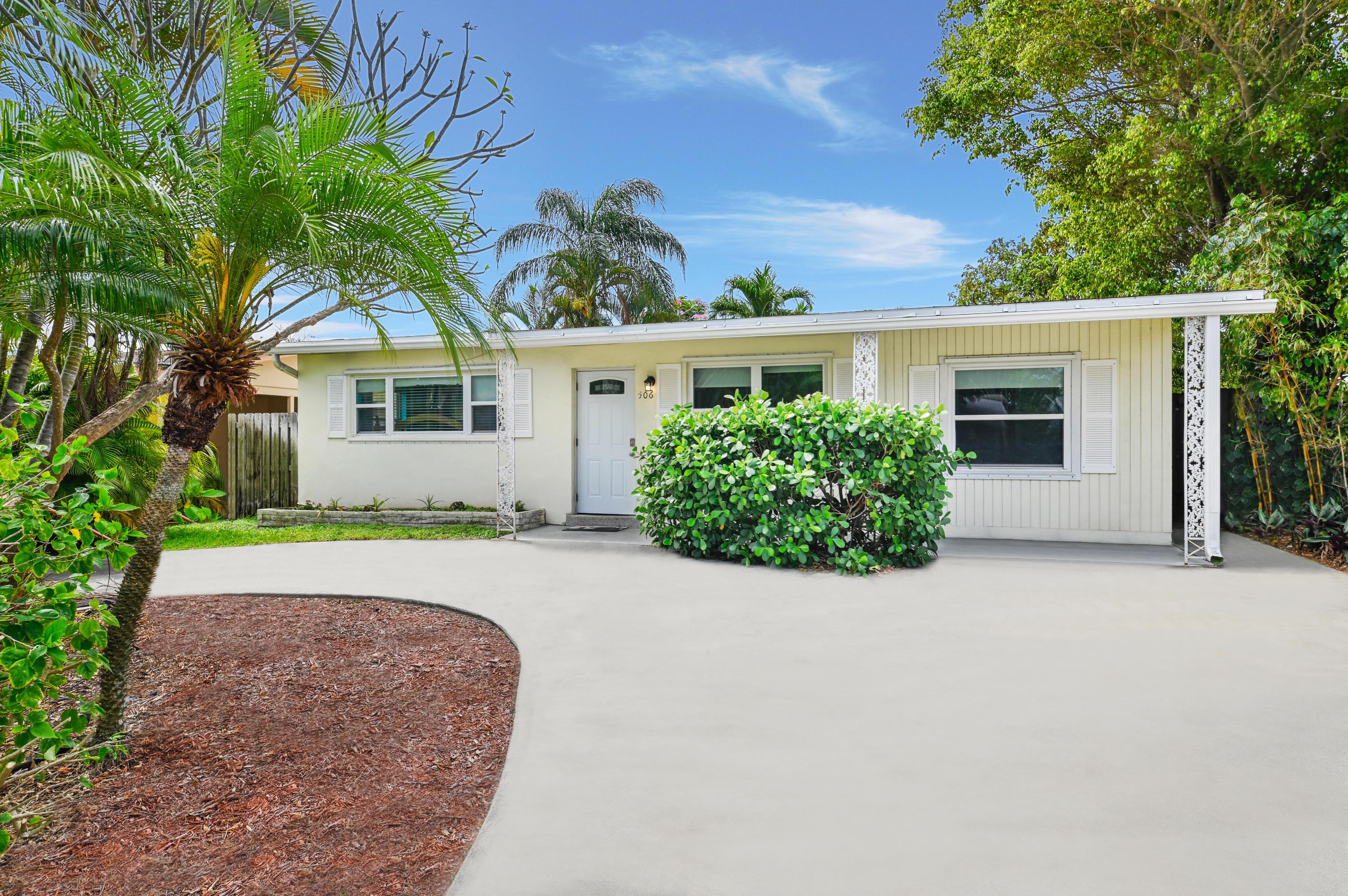 506 Mango Street, Lantana, Florida 33462, 3 Bedrooms Bedrooms, ,1 BathroomBathrooms,A,Single family,Mango,RX-10614746
