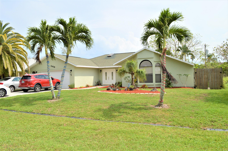 2458 Renick Avenue, Port Saint Lucie, Florida 34952, 3 Bedrooms Bedrooms, ,2 BathroomsBathrooms,A,Single family,Renick,RX-10617011