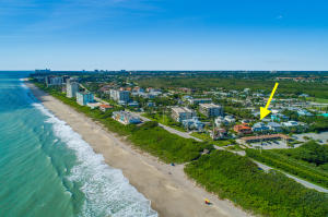 Panoramic Ocean Views from this 3 story Key West Style beach home steps away from the sand of Juno Beach! Rare opportunity to purchase a solid, 2004 built CBS beach home with impact doors & windows (on 2nd & 3rd floors & tempered glass on main level), in prime location in Juno Beach & lots of gorgeous ocean views from 2nd & 3rd floor. This residence features open floor plan with plenty of natural light, crown molding, shiplap wood ceilings, lots mill work, pickled hardwood flooring, Brazilian hardwood exterior decks & swap around patios. The open butcher-block island kitchen offers custom cabinetry, granite counters, SS appliances & stunning ocean views.