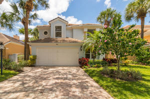 **3D Virtual Tour Available**Come enjoy this single family home in the heart of Oak Harbour, a gated Intracoastal community with a marina, clubhouse, pools, tennis and more all in lovely Juno Beach! This home has a wonderful open floor plan featuring a living room with a 2 story ceiling, spacious eat-in kitchen with center island, new ovens, granite counters, and convenient pass thru to the Family room. The Family room has French doors that lead to a spacious lanai for relaxing or grilling.  Upstairs you will find a master with cathedral ceiling and updated bath with whirlpool tub, separate showers & dual vanities with lots of closet space. There are also 2 guest rooms, one with walk-in closet and a sizable loft with closet that could be a 4th bedroom.