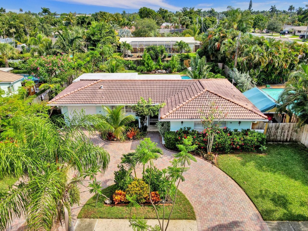 Home for sale in Deer-Pomp Estates 40-49 B Lighthouse Point Florida