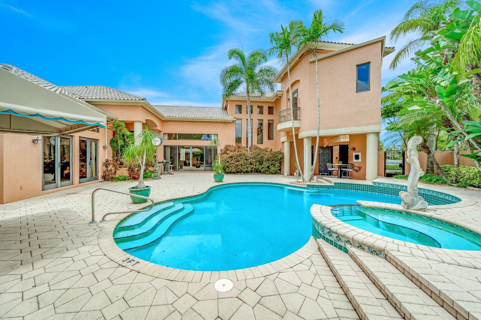 Home for sale in Boca Pointe, El Dorado Court Boca Raton Florida