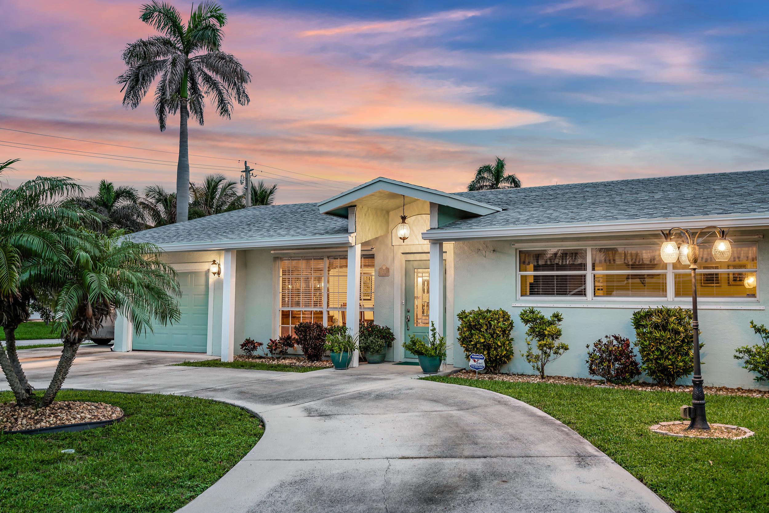 131 Cascade Lane  Palm Beach Shores FL 33404