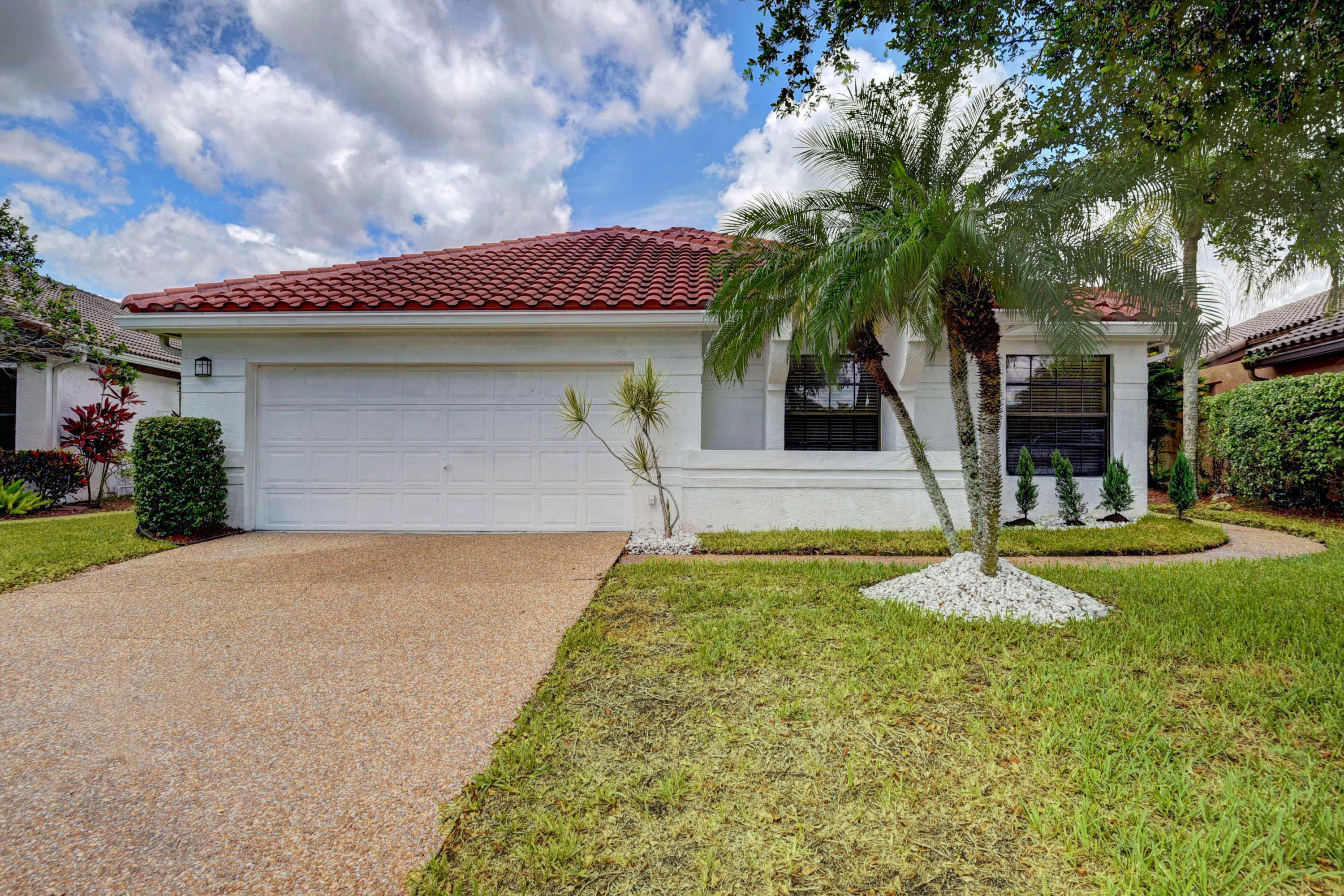 Home for sale in Boca Woods Country Club Boca Raton Florida