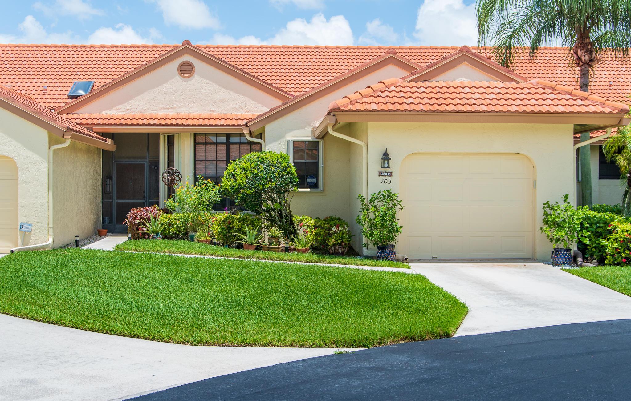 Home for sale in Harbours At Aberdeen - Non-membership Boynton Beach Florida