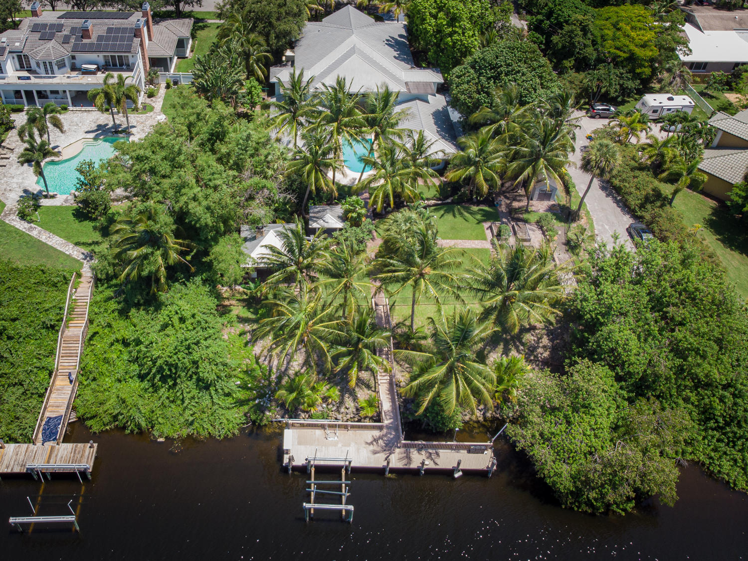 Aerial With Boat Dock