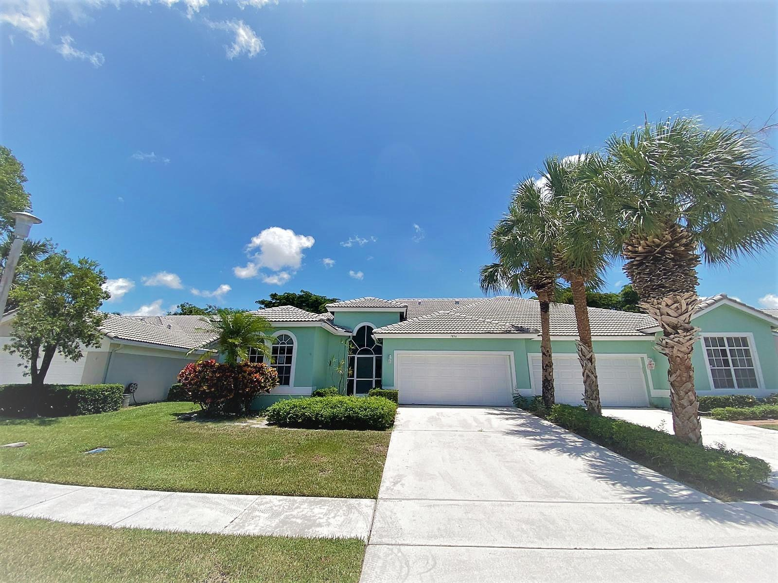 Home for sale in Brittany Lakes Boynton Beach Florida
