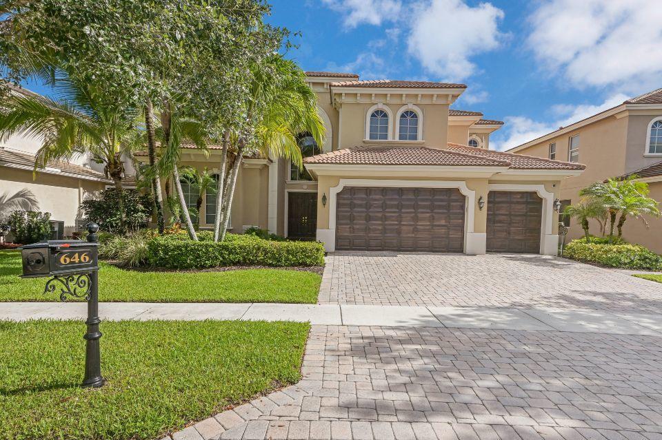646 Edgebrook Lane  Royal Palm Beach FL 33411