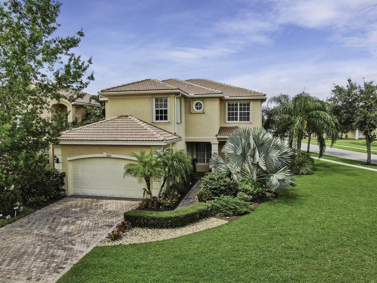 Home for sale in Canyon Lakes Boynton Beach Florida
