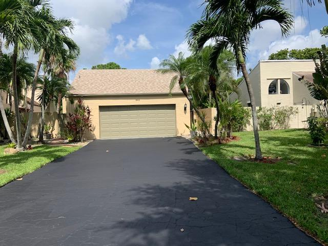 Home for sale in RAINBERRY LAKE PH IV-A Delray Beach Florida