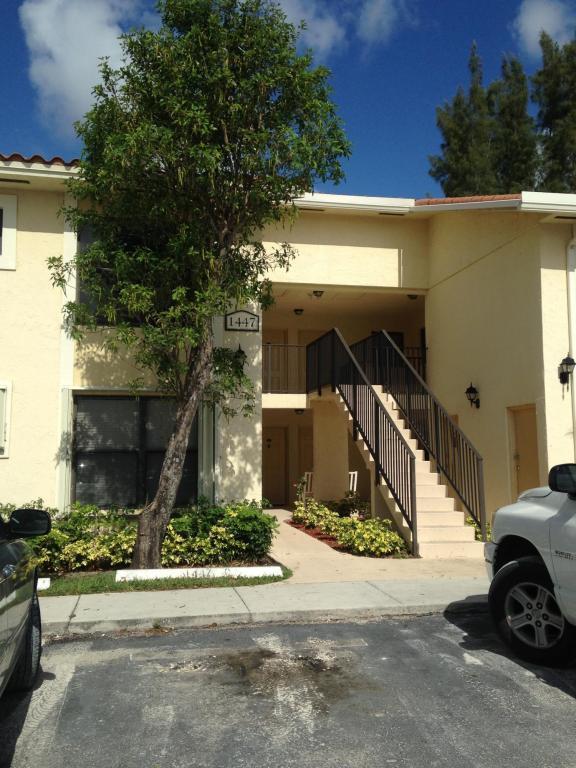 1447 Lake Crystal Drive E  West Palm Beach FL 33411