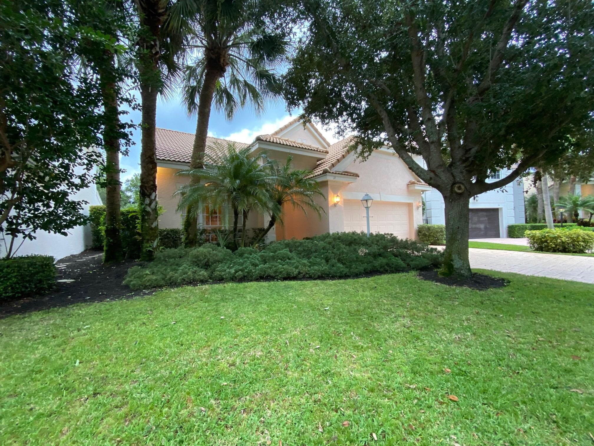Home for sale in The Sanctuary Palm Beach Gardens Florida