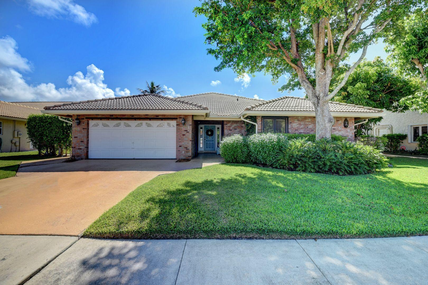 Home for sale in ESTOVILLE - Spanish River Gardens Boca Raton Florida