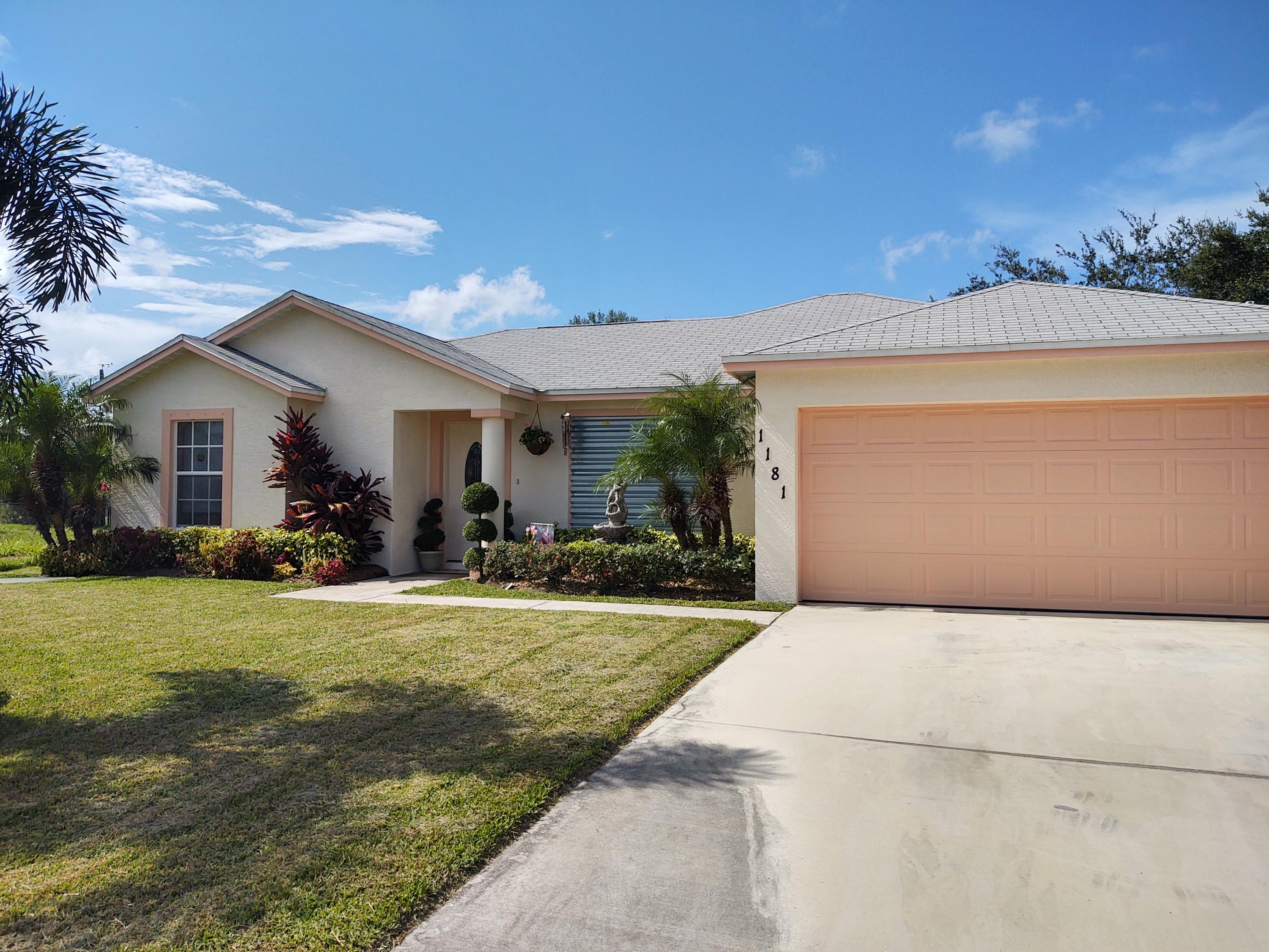 Home for sale in SOUTH PORT ST LUCIE UNIT 5 Port Saint Lucie Florida