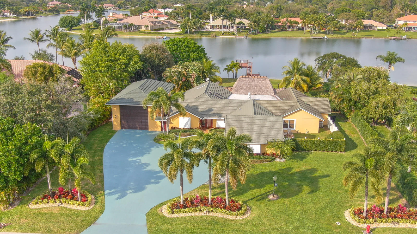 Home for sale in Banyan Lakes West Palm Beach Florida