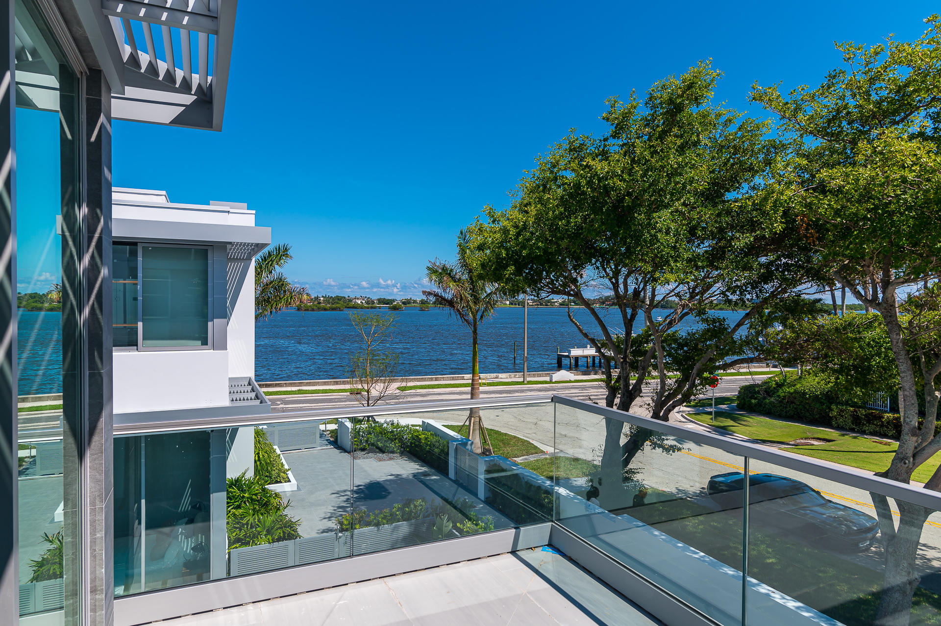 Guest House Balcony with water views