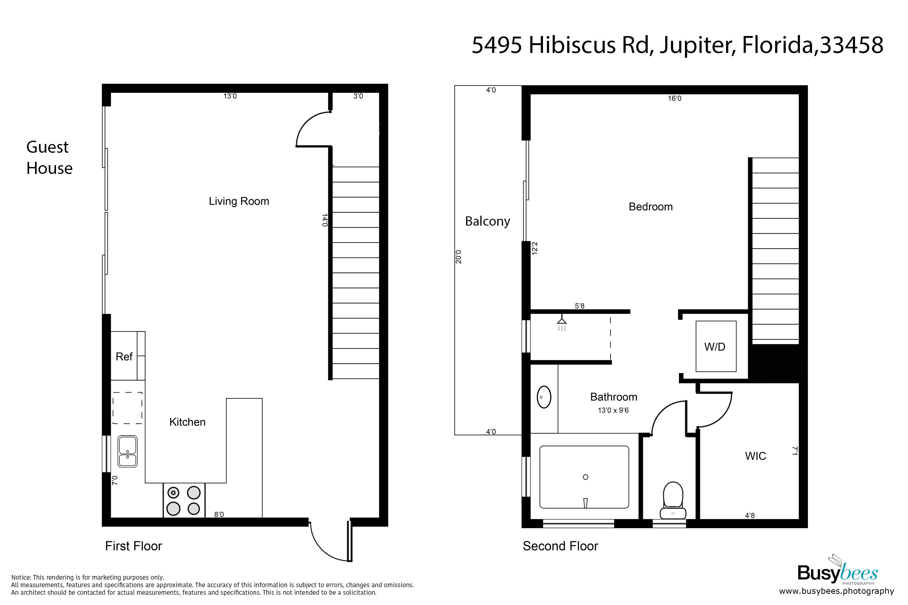 5495 Hibiscus Road, Jupiter, Floor Plan