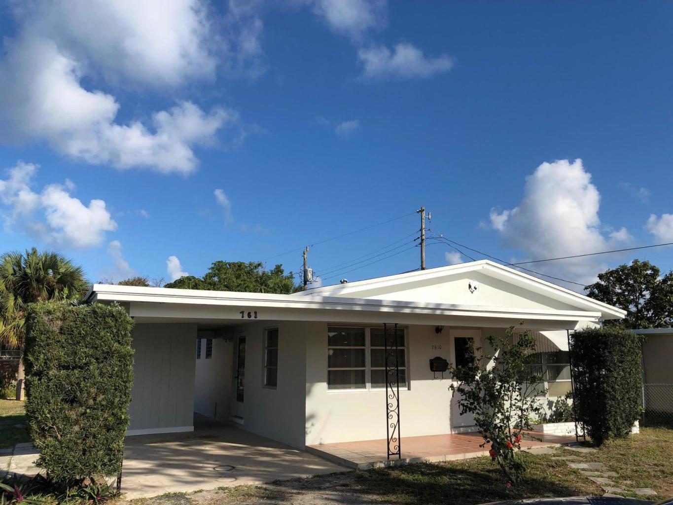 7610 S Olive Avenue  West Palm Beach, FL 33405