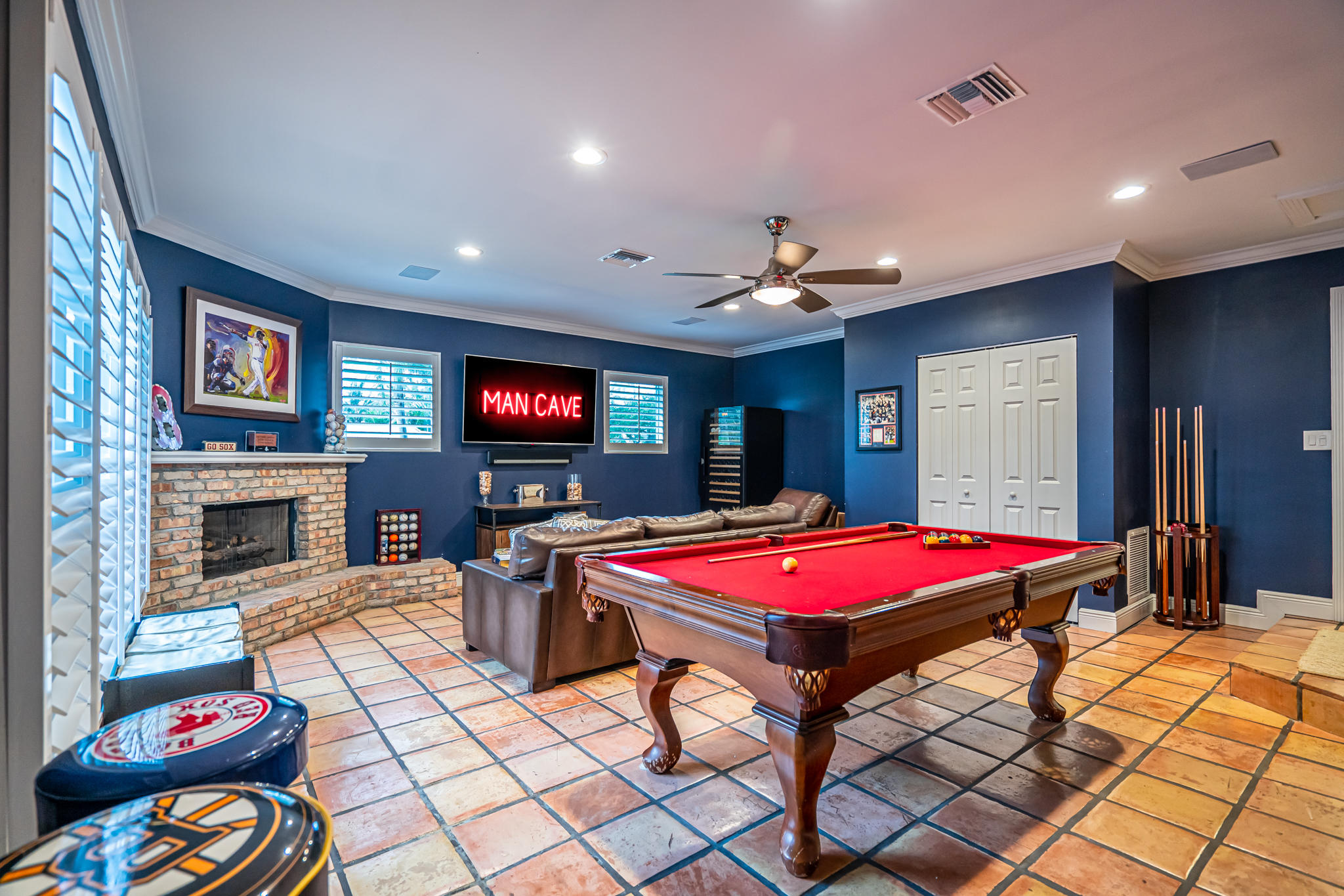 Large Family Game/Media Room 30