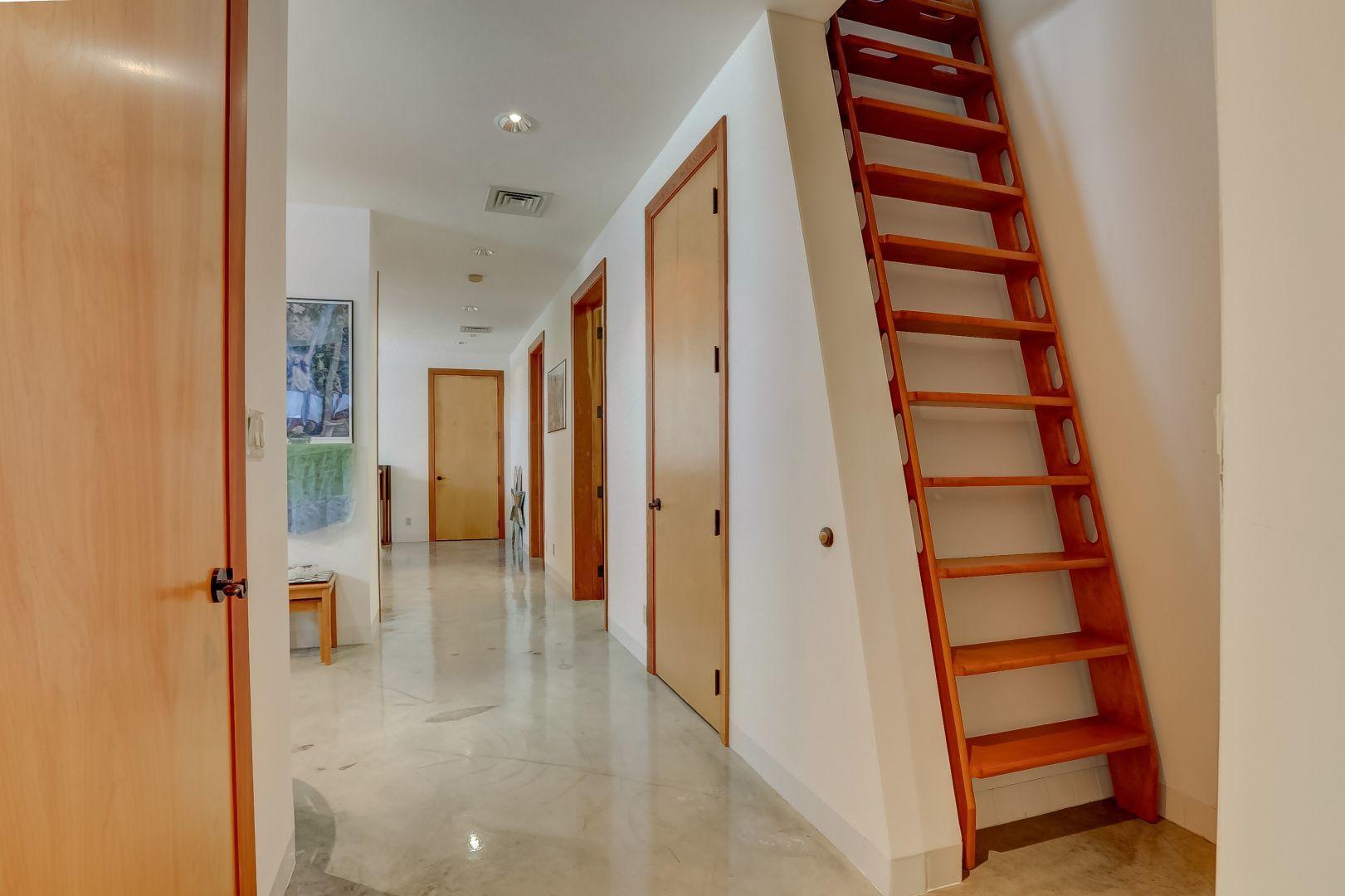 Stairs to 3rd Floor Bonus Room