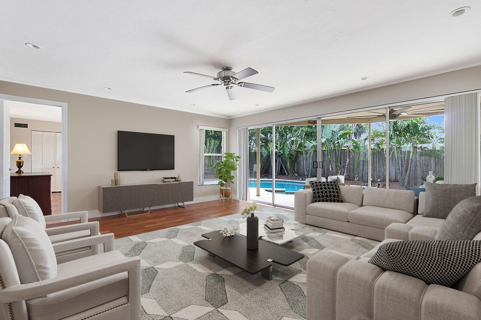 Home for sale in IMPERIAL POINT Corner Lot Fort Lauderdale Florida