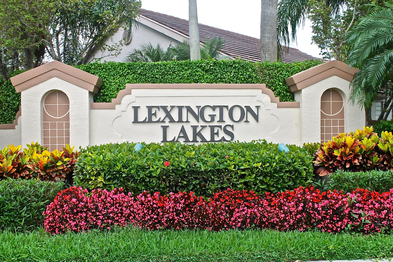 Home for sale in Lexington Lakes Boynton Beach Florida