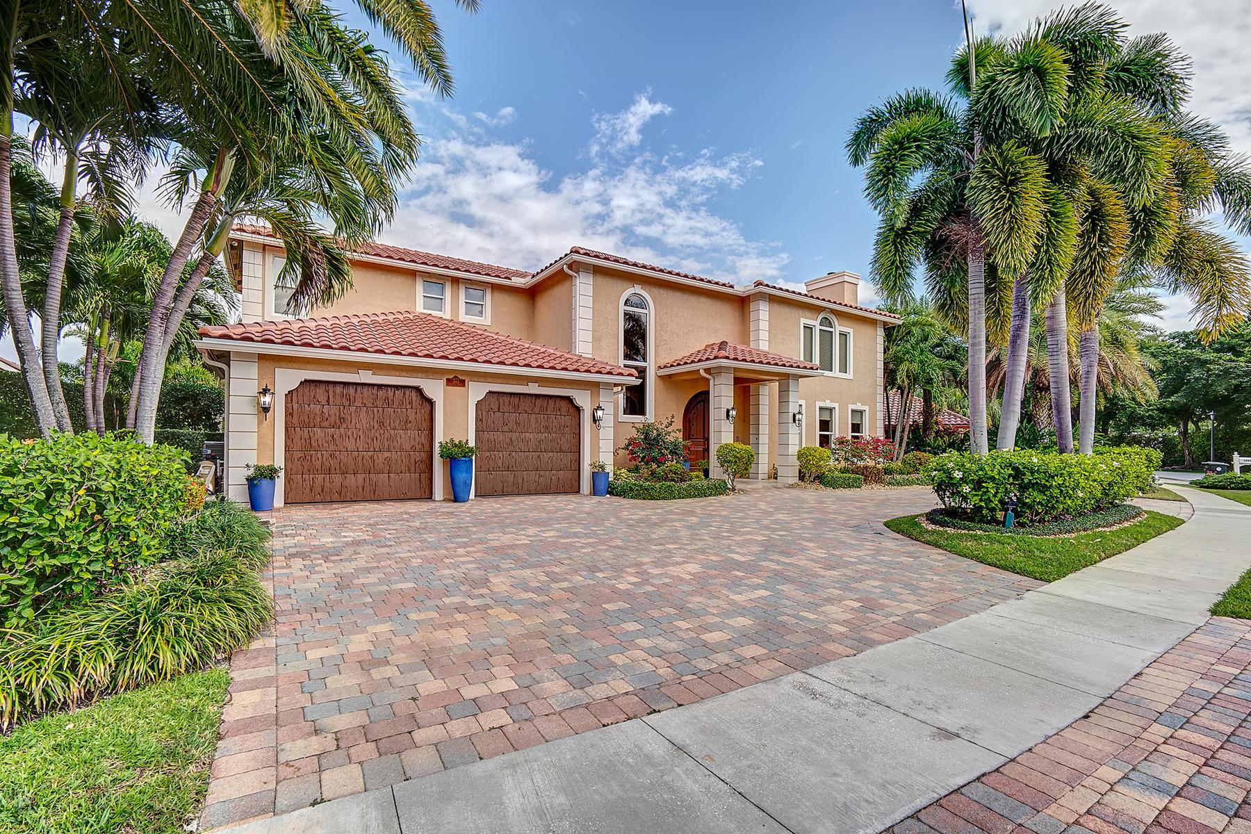 Home for sale in Boca Sailing & Racquet Boca Raton Florida