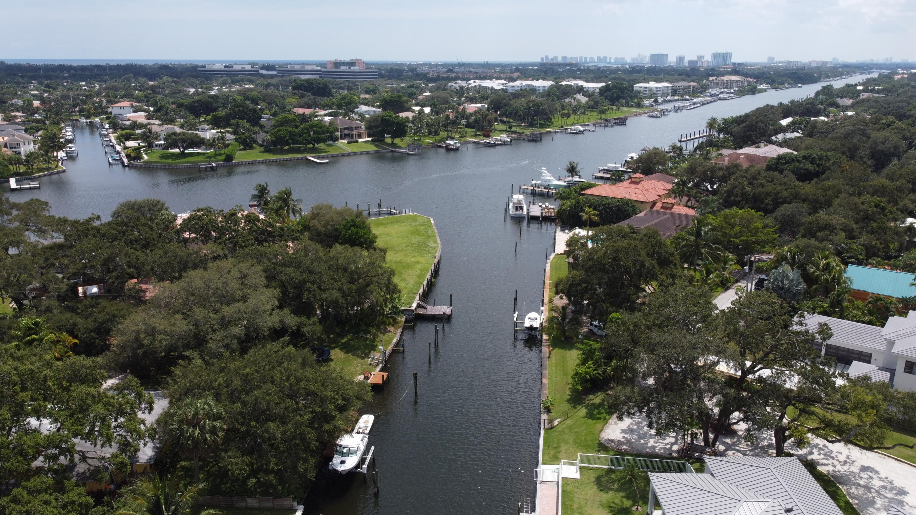 Canal adjacent to ICW