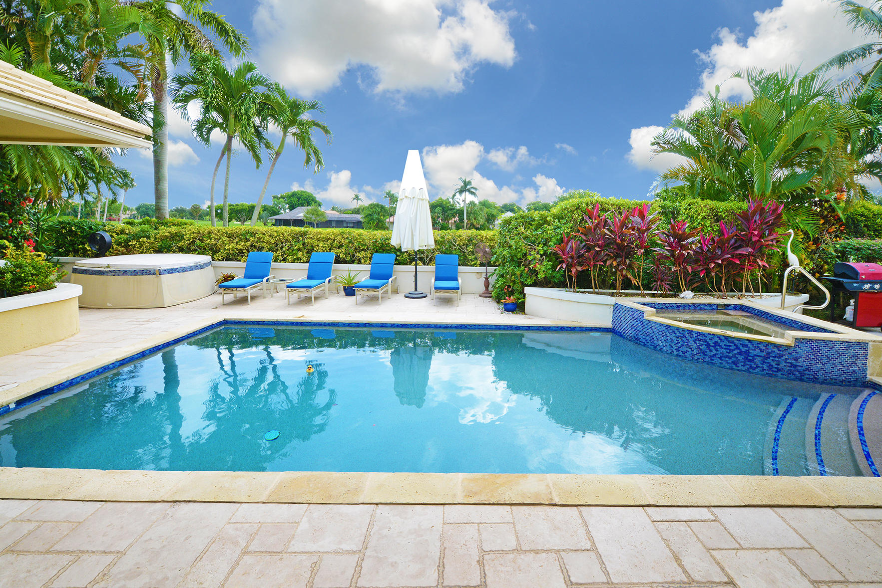 Expansive Pool and Patio