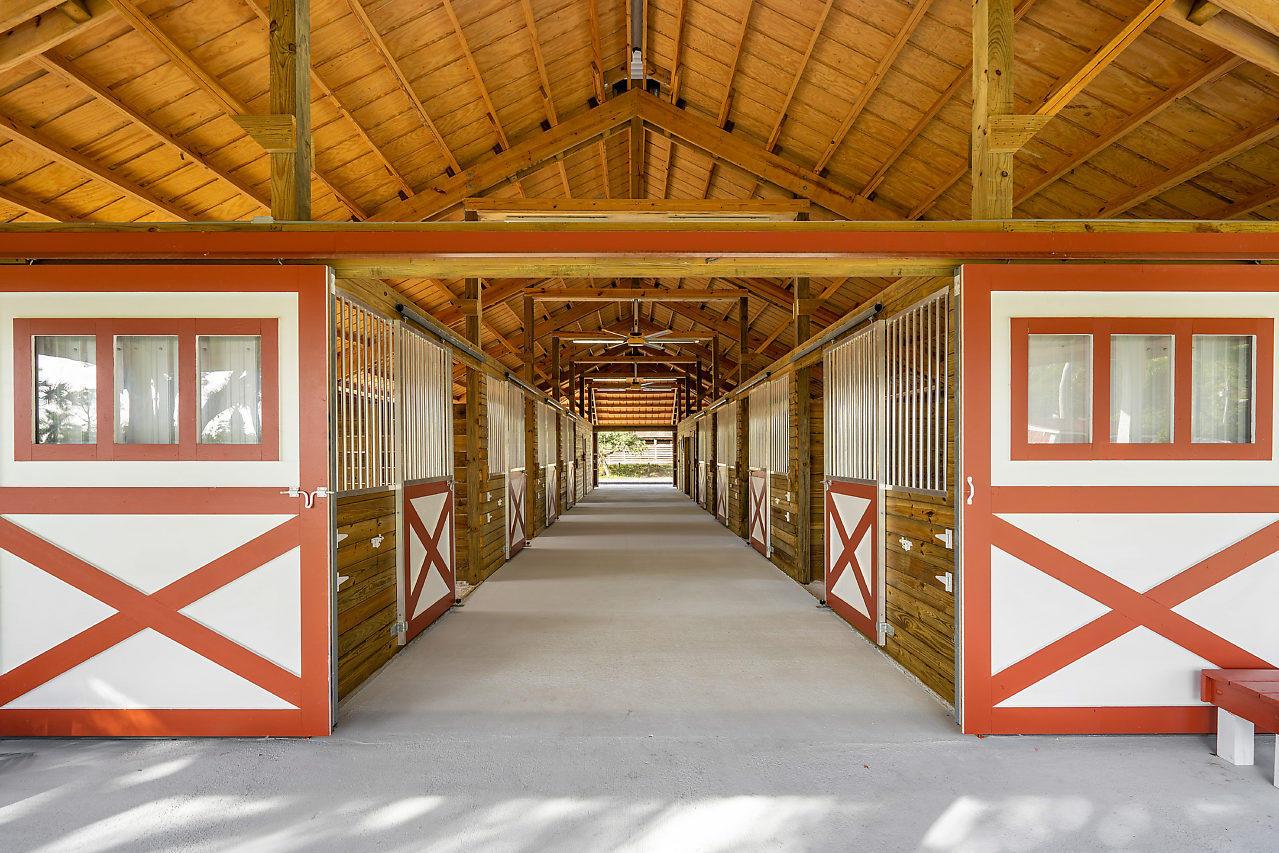 Barn Interior 9