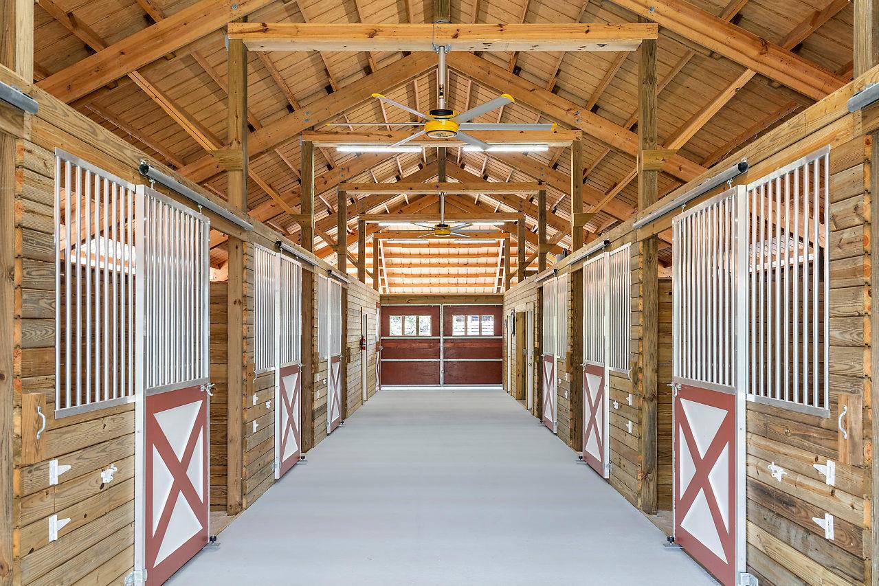 Barn Interior 11