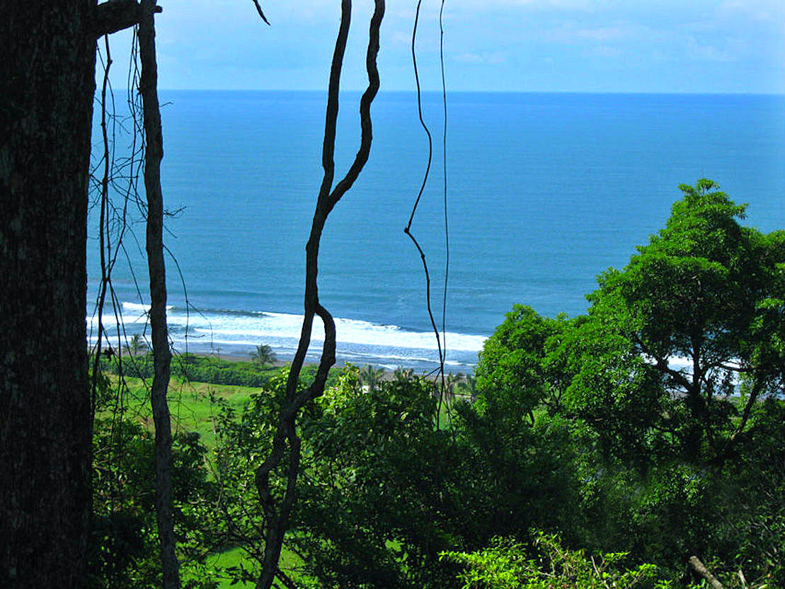 Playa Hermosa View from the mountains