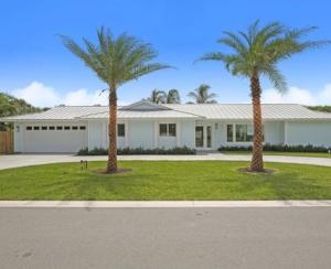 NEWLY REMODELED 2018 beach home located directly across from the ocean. 3 bd, 2 bath and private custom designed tropical pool/hot tub. ceramic tile through the entire house, NEW 2020 AC, 2018 GE Monogram stainless steel appliances, gas range with hood, 2 dishwashers, and industrial sized fridge with custom closets and bathrooms. Highly sought after beach community located at the southern tip of Jupiter Island. Short walk to Jupiter Inlet & beach access. JIB Marina and Beach Club memberships are available with additional fees. Jupiter Inlet Colony just completed a major infrastructure project. JIC is an exclusive town w/its own police force, updated infrastructure, new sewers, public water & underground electric.