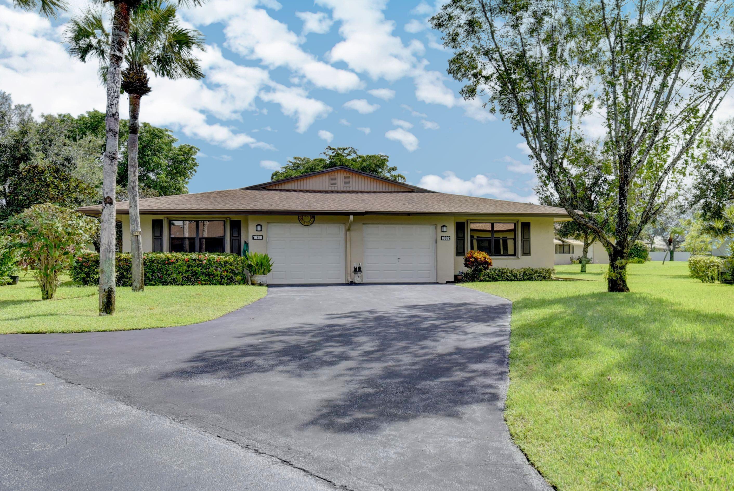 Home for sale in CHANTECLAIR VILLAS CONDO TWO Boynton Beach Florida
