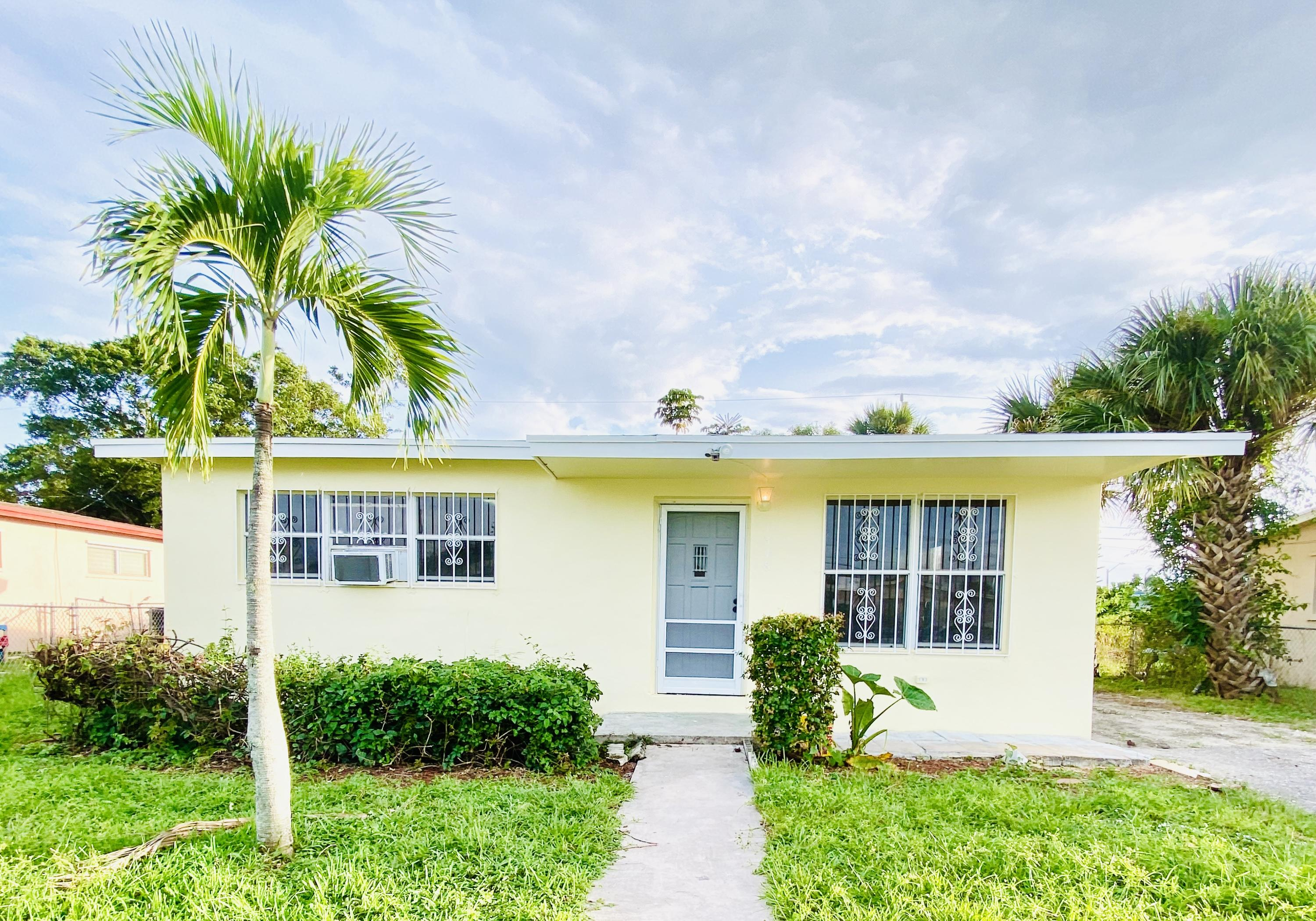 Home for sale in Roosevelt Estates Rep West Palm Beach Florida