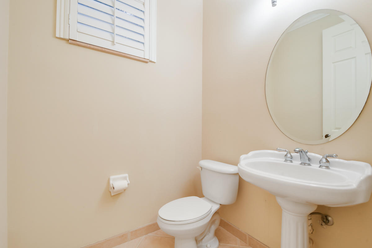 1/2 Bath / Powder Room