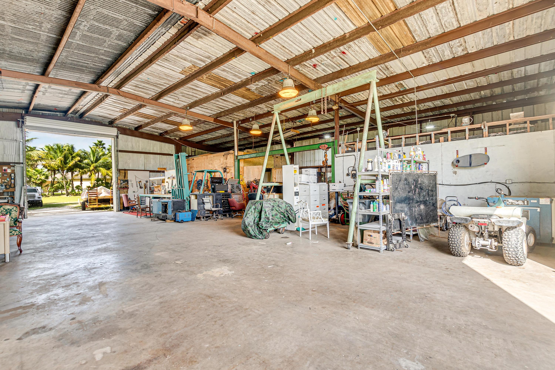 work shop building