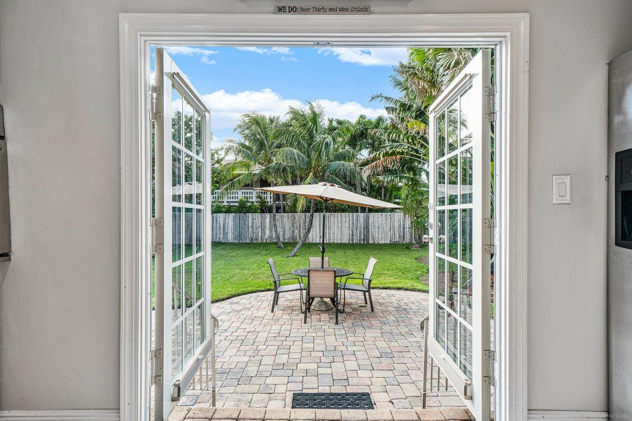 Kitchen French Doors