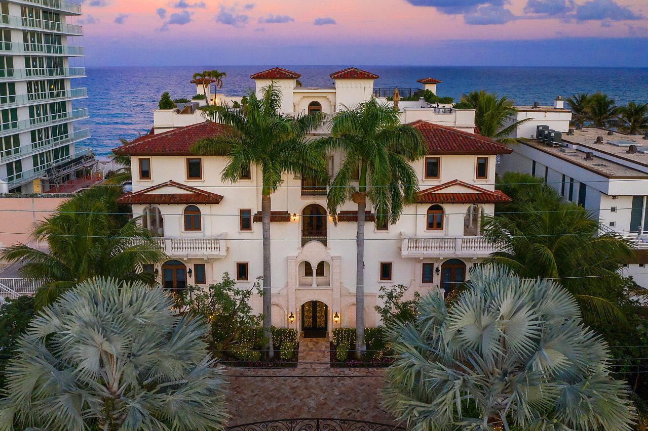 Home for sale in VILLAS AT HIGHLAND BEACH CONDO B Highland Beach Florida
