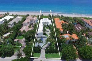 Custom built oceanfront estate offers 100 of direct oceanfrontage with grand views of the Atlantic Ocean. Situated in Byrd Beach Estate Section on an incredibly deep lot with mature ocean dune, this expansive compound was designed by renowned William Wietsma Architect and expertly built by Mark Timothy, Inc. Features include grand ocean views; formal living areas; master wing with office and separate master baths; study; and access to covered logia, summer kitchen, pool with spa and tiki hut with seating directly on the beach. The luxurious property offers gated entry: four car garage; basketball court; and large bonus area above garage that can be converted to extra bedrooms, recreation area or theater. This exceptional oceanfront opportunity is in a location that is second-to-none.