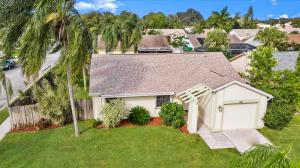 Welcome to the highly desirable Jupiter Village. Enjoy the oversized corner lot featuring your own private oasis in the back yard that is fully fenced in. Very low HOA fees and a large converted additional bedroom making the home feel like a true 3 BR. Spacious split floorplan and large bedroom sizes throughout the house. Roof was replaced in 2016. Soaring cathedral ceilings & Tile flooring throughout the house. Updated fixtures and updated bathrooms. Great home for entertaining including a roomy gourmet kitchen for cooking and entertaining with a nice breakfast nook set up. Full hurricane protection and an impact front door. All of this located close to fine dining, shopping, entertainment, easy access to 95 & turnpike and very close distance to PBI airport. Close to Alton & Abacoa!