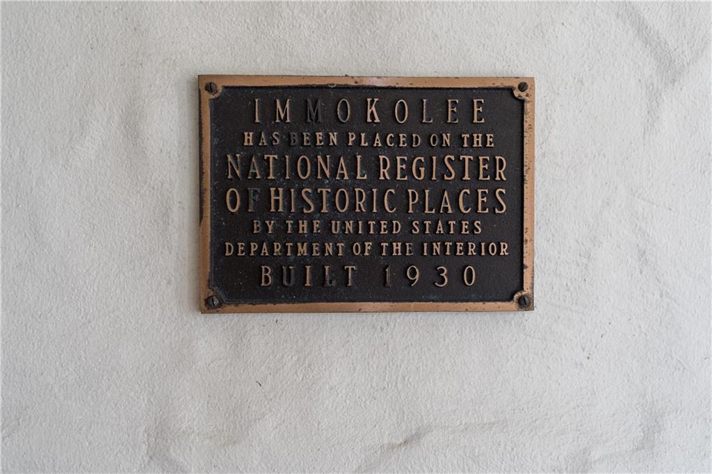 Immokolee_Register Plaque