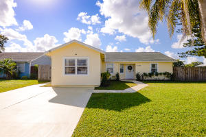 Four bedrooms, corner lot, large private pool, fully-fenced yard, AND impact windows...this extremely rare combination will NOT last long so dont delay! AC, water heater, and appliances all just two years old. Updated kitchen features granite countertops, soft close drawers, and center island. Beautiful wood-look ceramic tiles throughout the home. No HOA. Well-maintained public park with playground with large, scenic pond right across the street. This 4 bedroom, 2 full bath home is a must-see!