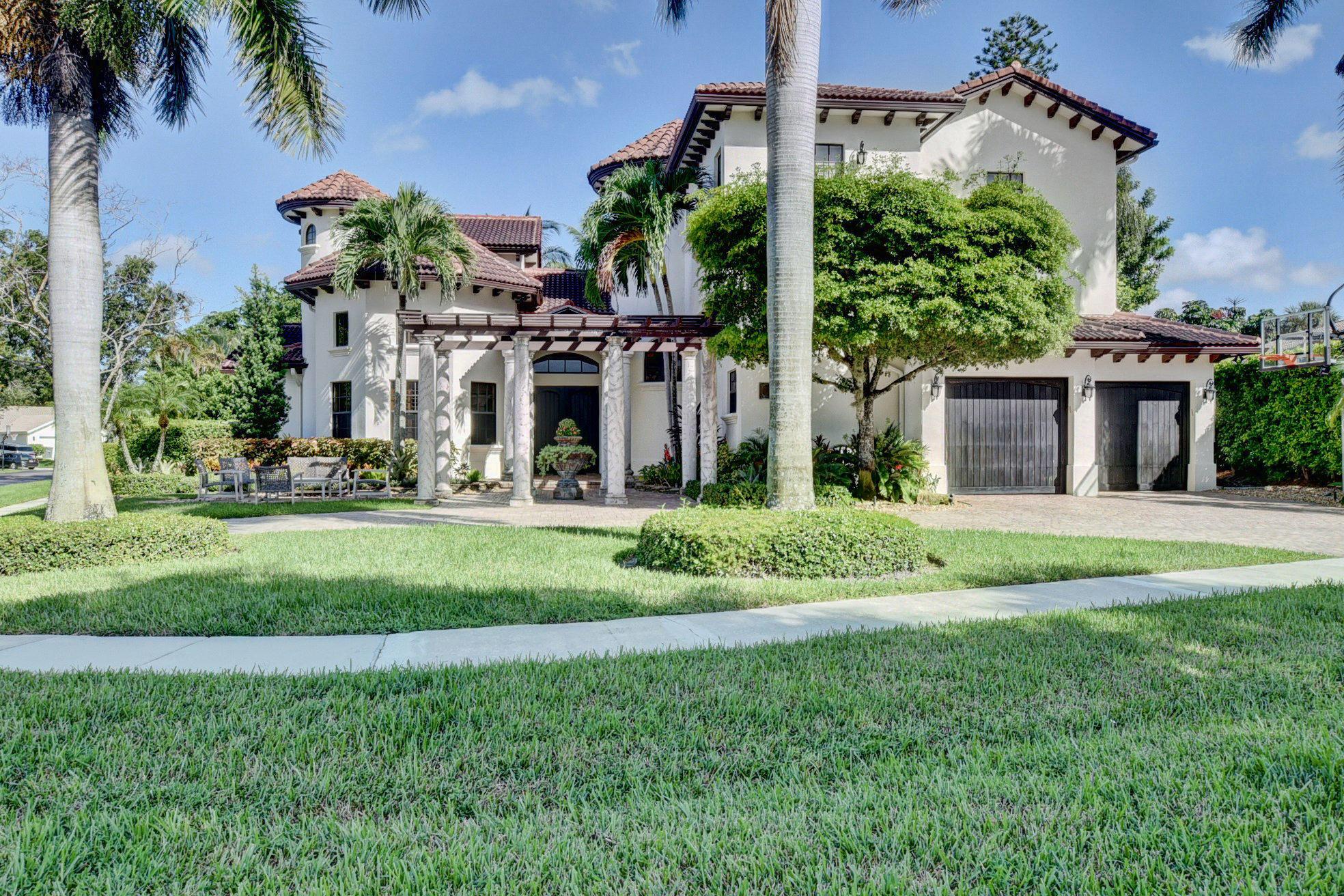 Home for sale in THORNHILL ESTATES Boca Raton Florida